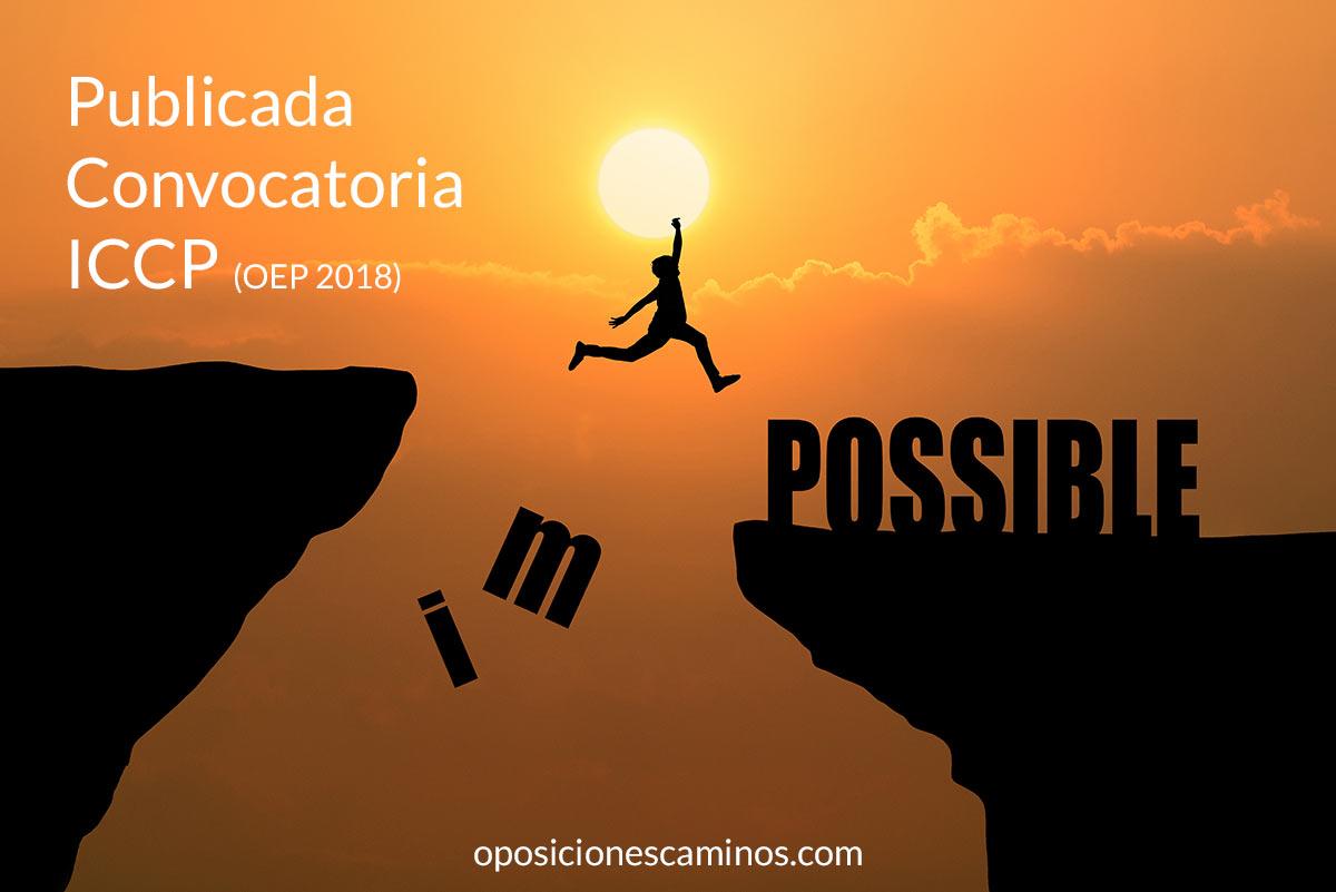 convocatoria iccp oposiciones